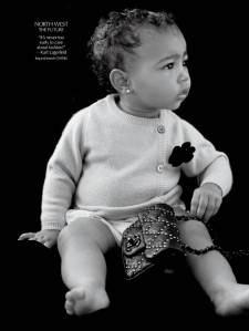 North West Makes Modeling Debut
